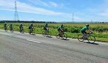 DLF quintet join team to complete more than a bike ride in the country