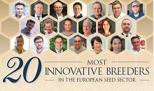 Two DLF plant breeders among the 20 most innovative