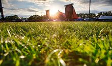 Sustainable rock & roll grass for Roskilde Festival