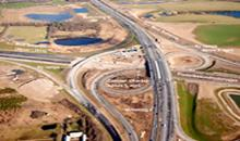 New freeway gives 600.000 m² of grass