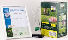 Silver medal to lawn grass mixture with Quick Action®
