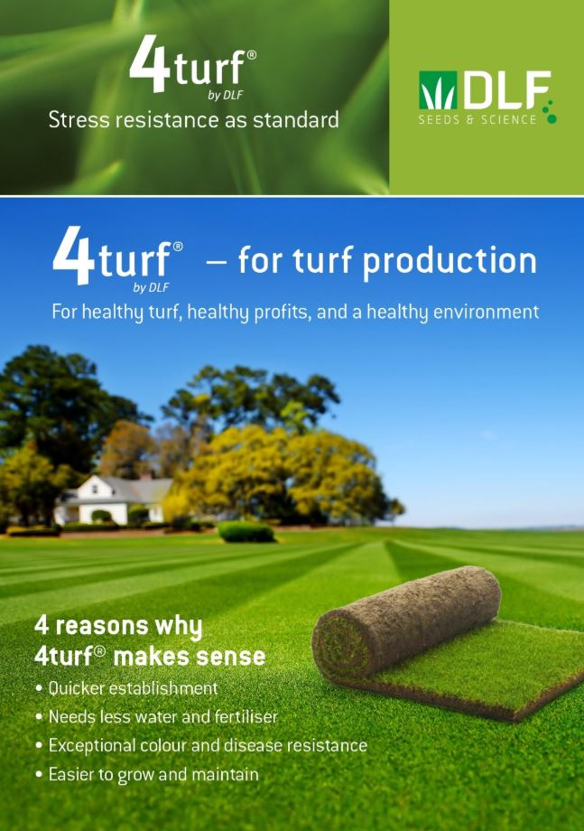4turf for sod production brochure
